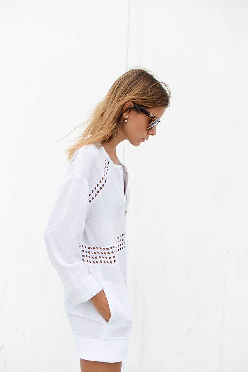 the petticoat resume 2014 total white iro dress  (4)