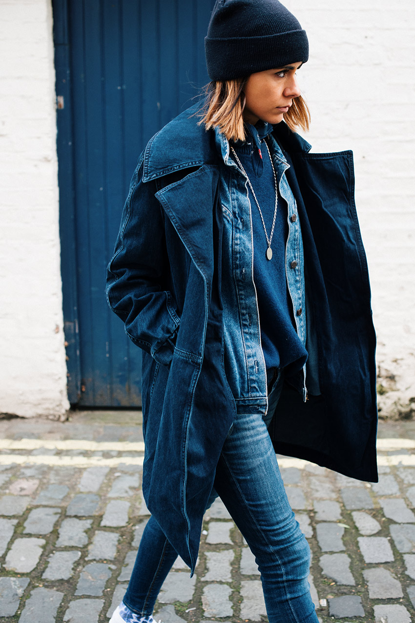 The Petticoat - Total Blue Denim in London LFW 15 thepetticoat 3