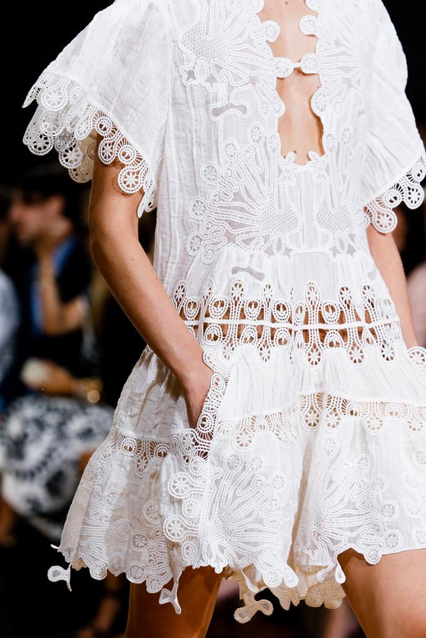the petticoat - chloe white dress