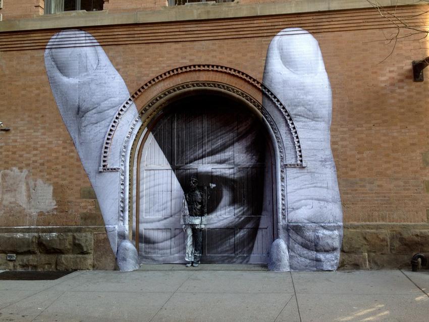 ThePetticoat Hiding Artist Inspiration by Liu Bolin & JR 18
