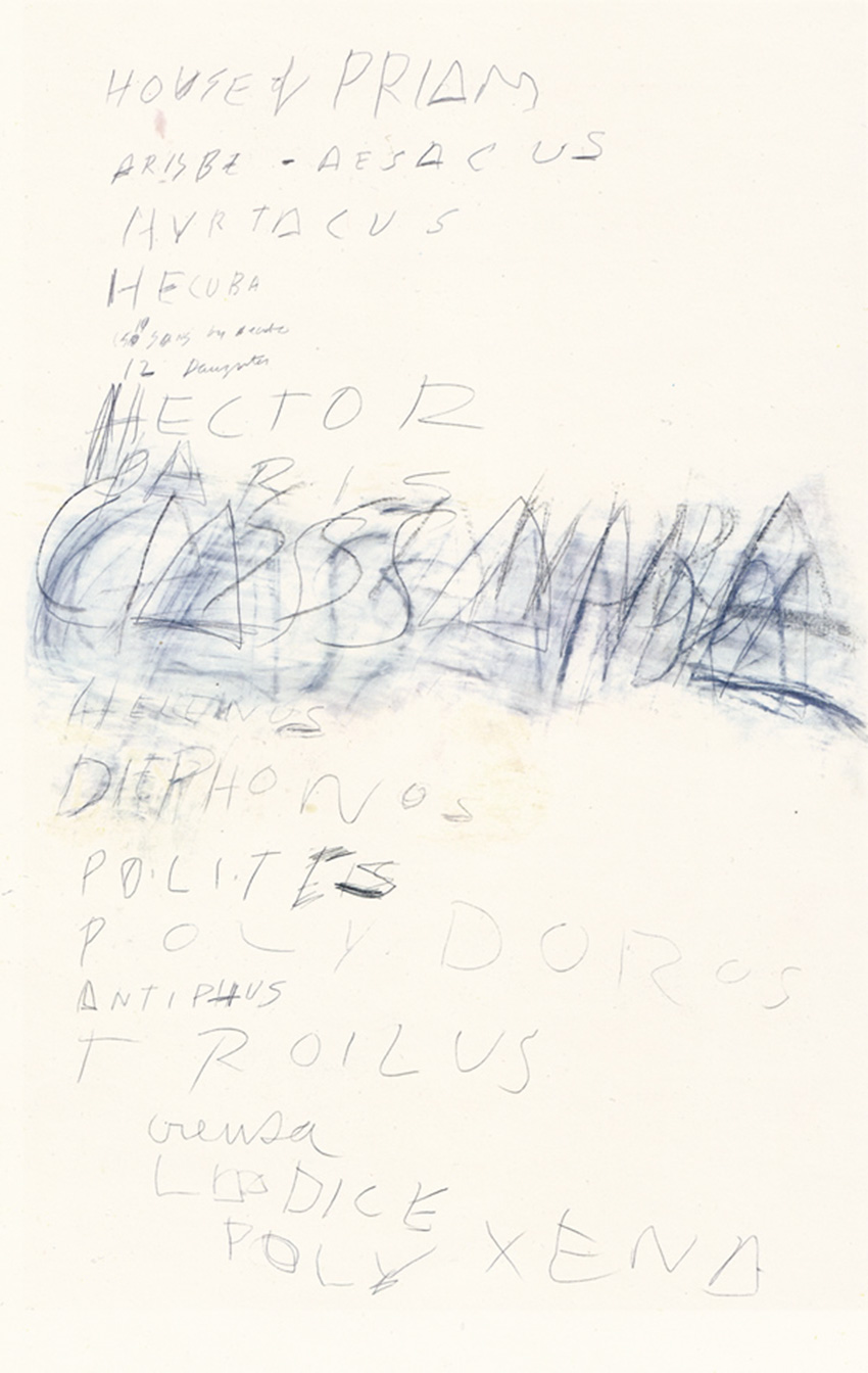 Cy Twombly Art Inspiration by The Petticoat -10