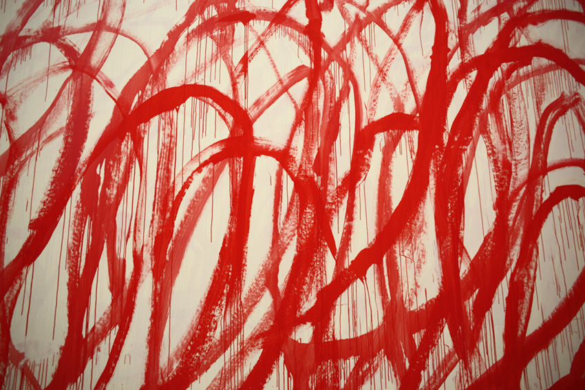 Cy Twombly Art Inspiration by The Petticoat -11