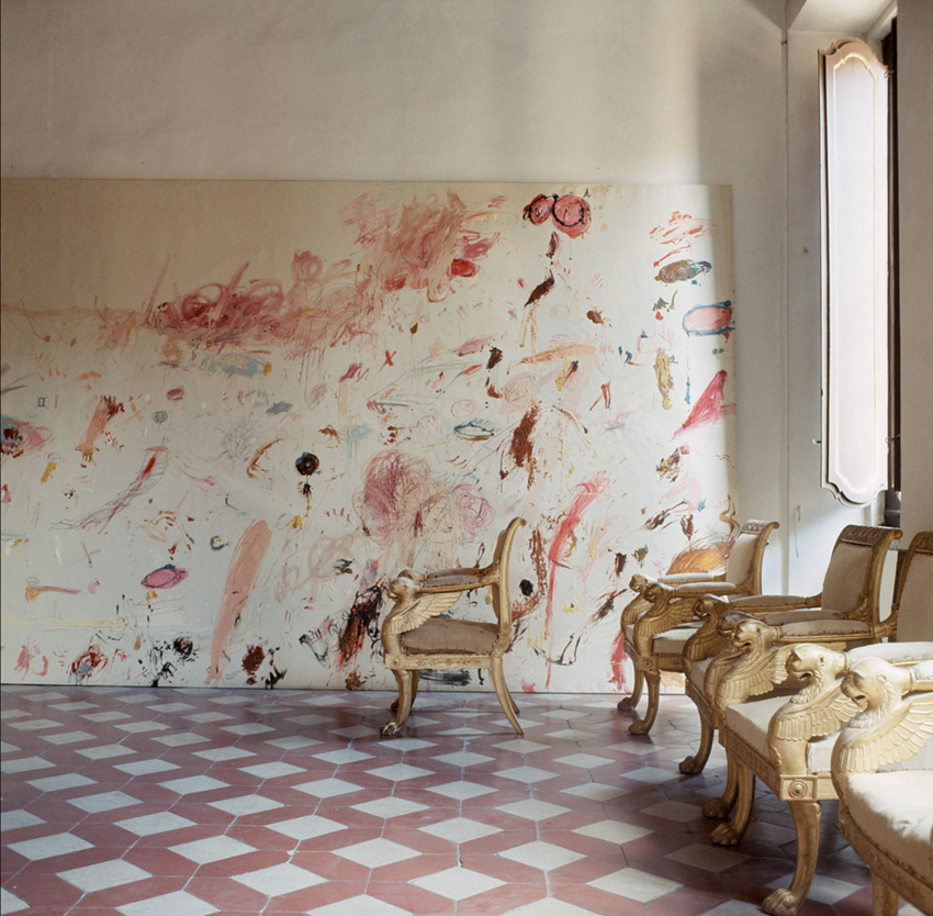 Cy Twombly Art Inspiration by The Petticoat -4