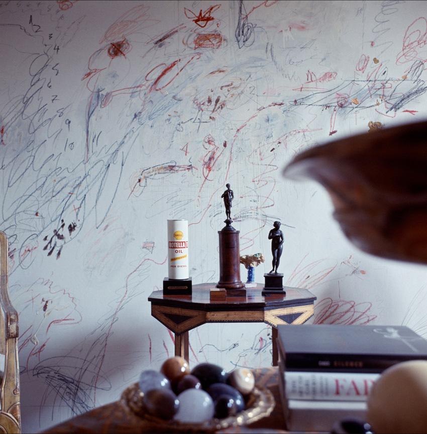 Cy Twombly Art Inspiration by The Petticoat -5