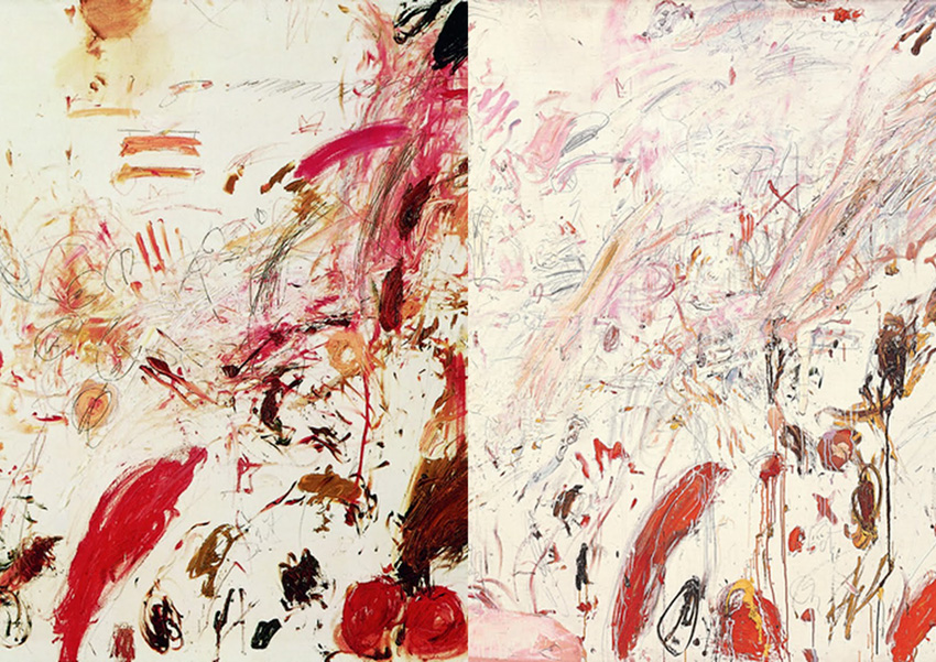 Cy Twombly Art Inspiration by The Petticoat -68