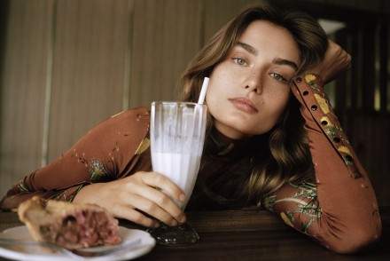 Editorial Andreea Diaconu by Dan Martensen for Telegraph The Petticoat  (2)