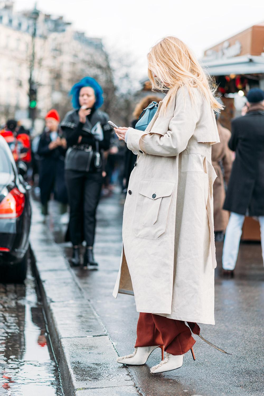 Paris Fashion Week Streetstyle by The Petticoat -Ada Kokosar Paris PFW