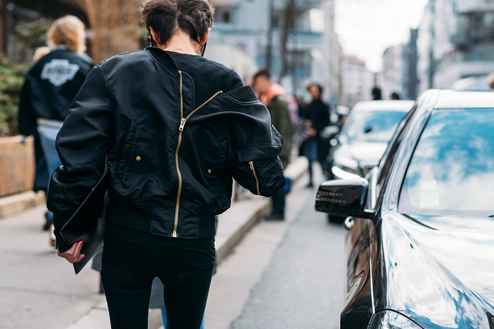 Paris Fashion Week Streetstyle by The Petticoat -Back Jacket After Balenciaga