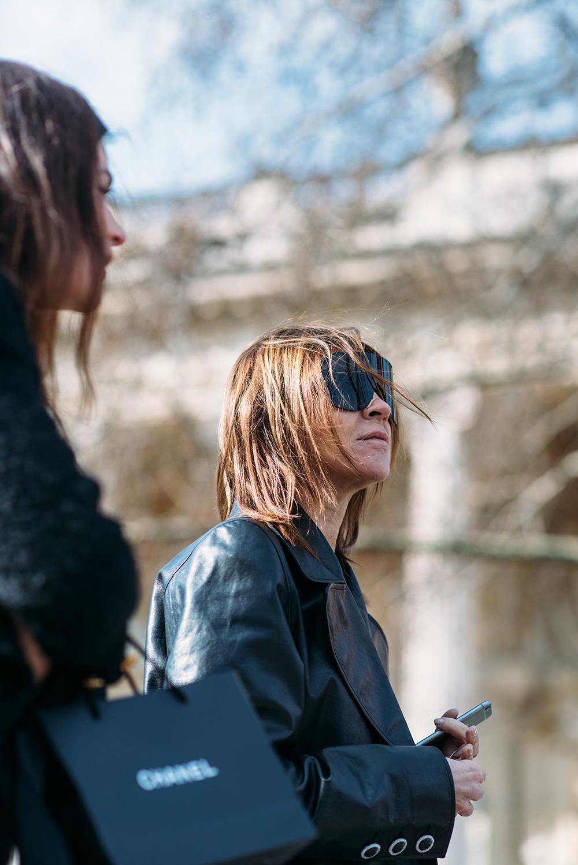 Paris Fashion Week Streetstyle by The Petticoat -Carine Roitfeld and Julia Roitfeld Paris PFW