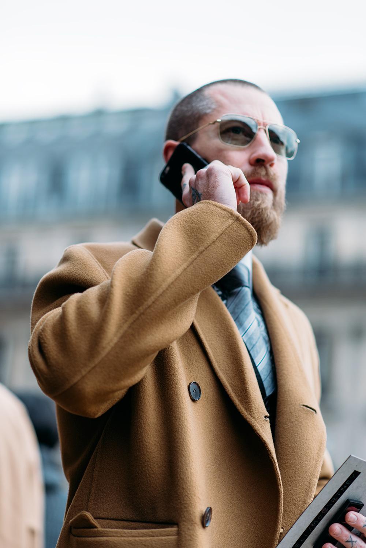 Paris Fashion Week Streetstyle by The Petticoat -Justin O Shea Paris Mens PFW