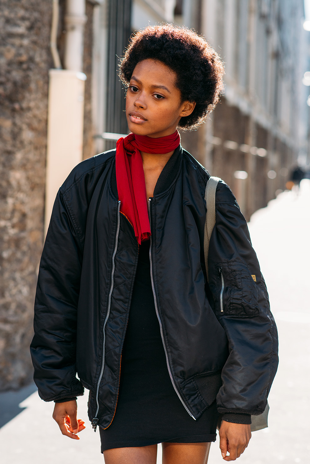 Paris Fashion Week Streetstyle by The Petticoat -Karly Loyce Model after John Galiano Show Paris PFW