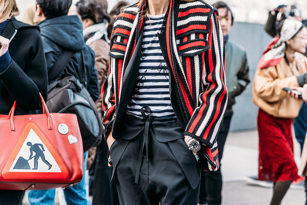 Paris Fashion Week Streetstyle by The Petticoat -Sarah Rutson after Balenciaga Show Paris PFW