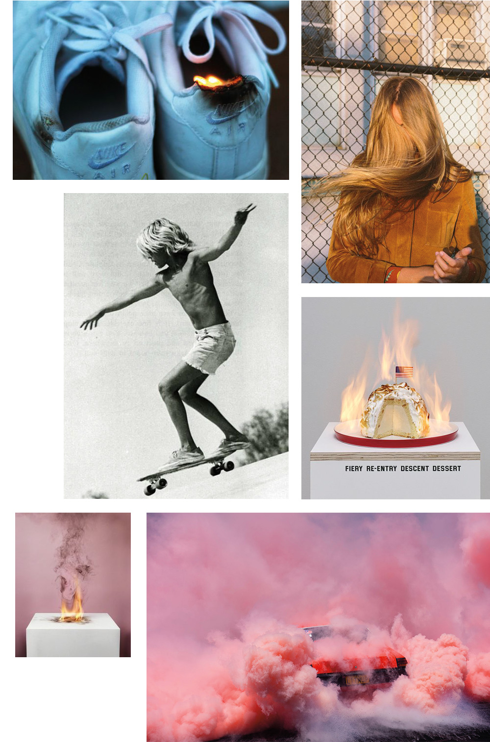 The Petticoat - Fire Inspiration Mood Board Mode Fashion --7