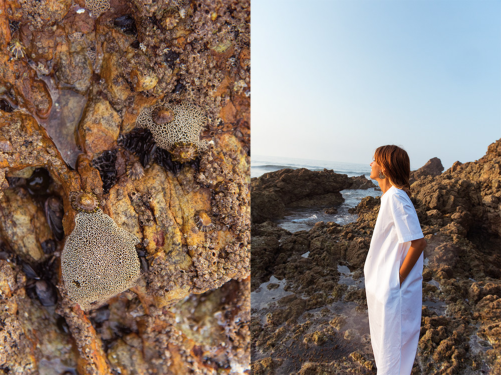 The Petticoat - White Dress Arnao Beach Rocks Summer And other Stories  (6)