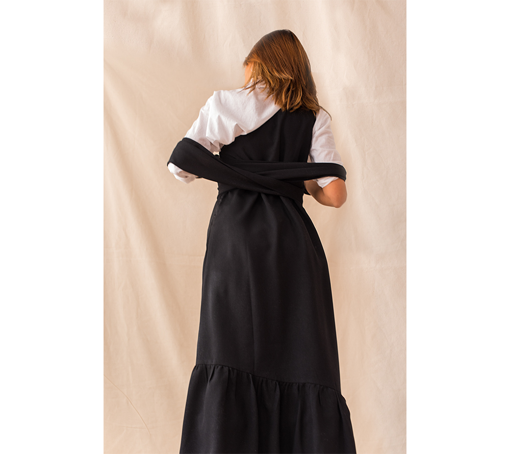 The Petticoat - Maurie & Eve Black dress Studio -5