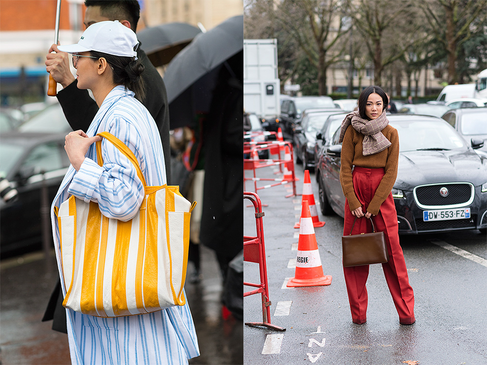 Streetstyle - Paris Fashion Week Fall17 for Glamour Spain by The Petticoat - Yoyo Cao before Celine