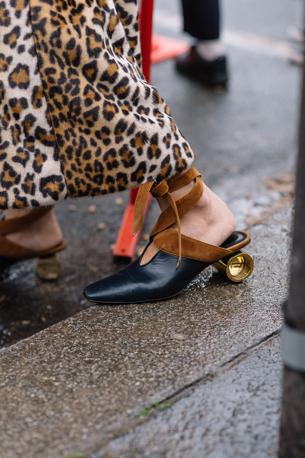 Streetstyle---Paris-Fashion-Week-Fall17-for-Glamour-Spain-by-The-Petticoat-Georgia Tal jw anderson shoes after Celine Show