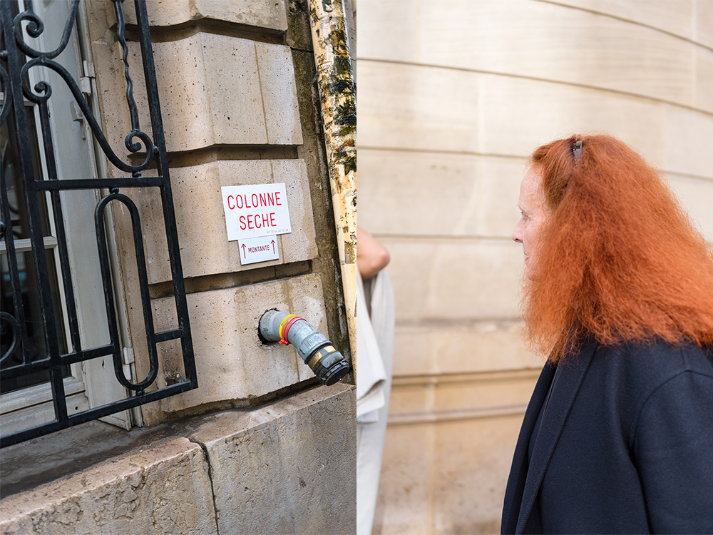 Streetstyle - Paris Fashion Week Fall17 for Glamour Spain by The Petticoat -Grace Coddington