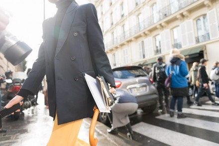 Streetstyle - Paris Fashion Week Fall17 for Glamour Spain by The Petticoat -Captures on the streets