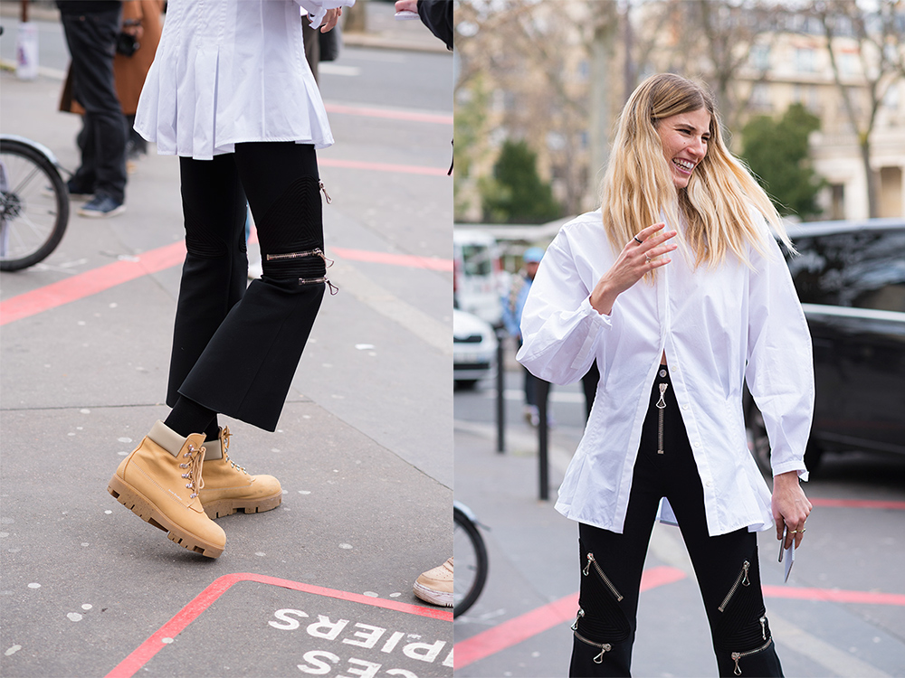Streetstyle - Paris Fashion Week Fall17 for Glamour Spain by The Petticoat -Veronika Heilbrunner before Ellery Show
