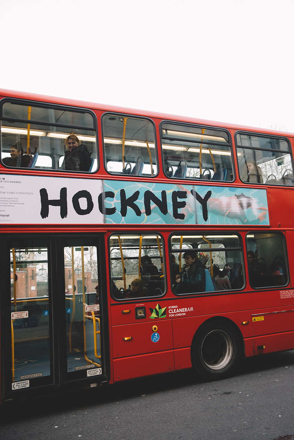 The Petticoat - London Fashion Week 17 -Photo Diary Hockney bus