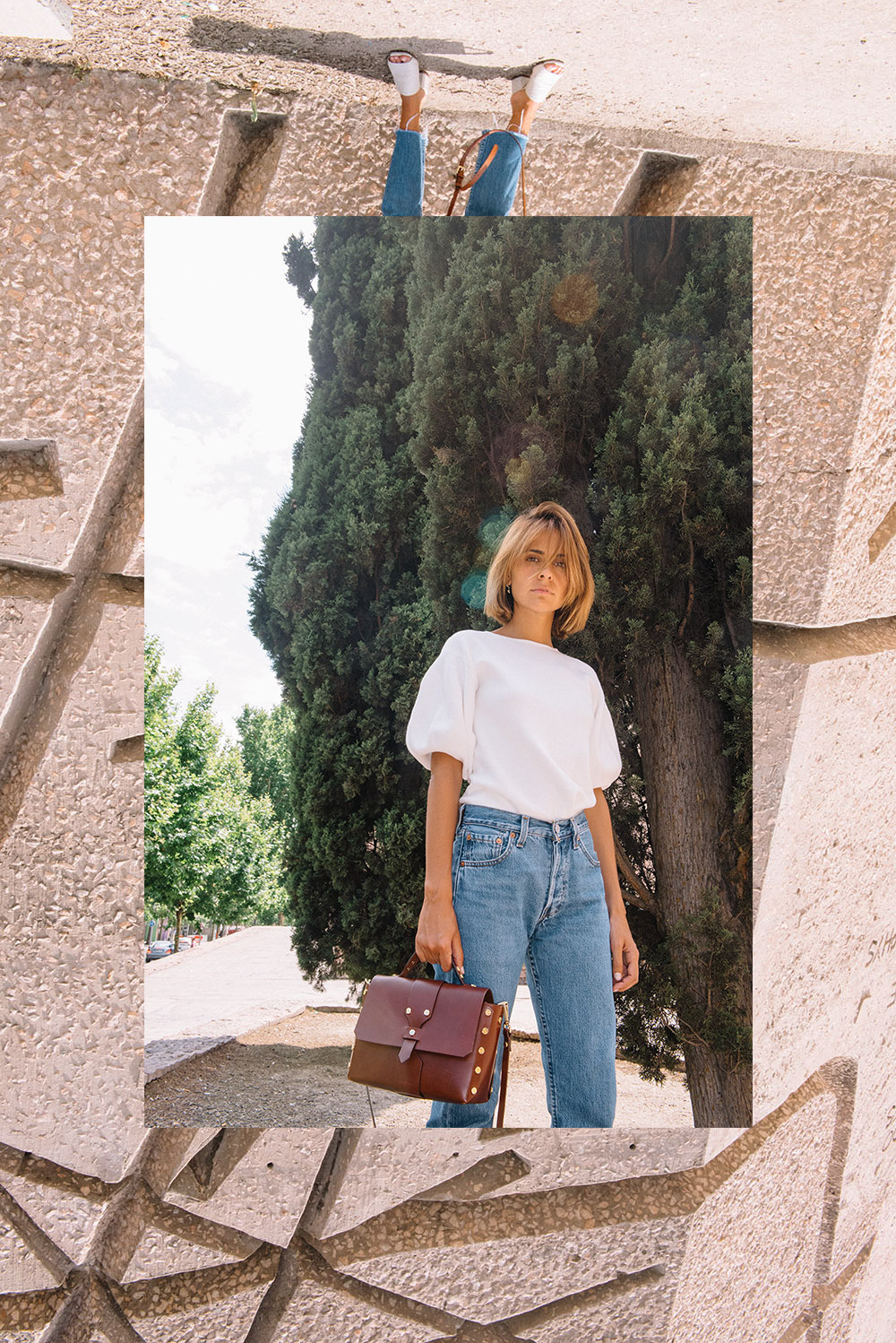 massimo-dutti-white-top-levis-pants-sandro-bag-by-the-petticoat-15